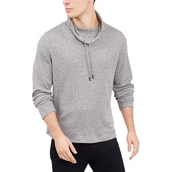Alfani Men's Funnel-Neck Hooded Sweatshirt