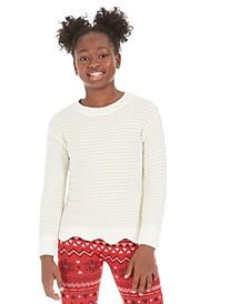Big Girls Scalloped Hem Sweater, Created For Macy's