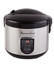 20-Cup Digital Rice Cooker with LED Display
