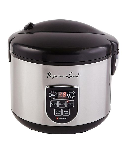 Professional Series 20-Cup Digital Rice Cooker with LED Display