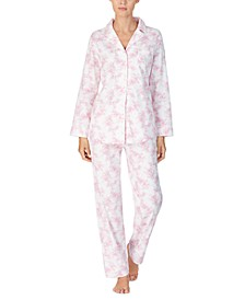 Women's Brushed Cotton Pajama Set
