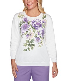 Loire Valley Cotton Embellished Sweater