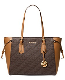 Signature Voyager Multi-Function Top Zip Tote