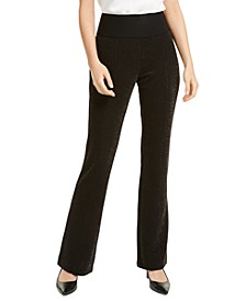 Pull-On Shimmer Pants, Created For Macy's