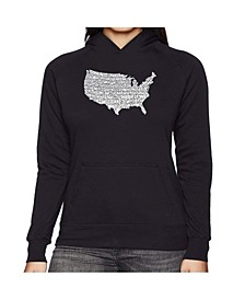 Women's Word Art Hooded Sweatshirt -The Star Spangled Banner