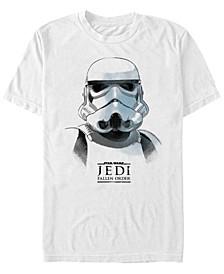 Men's Jedi Fallen Order Storm Trooper Sketch T-shirt