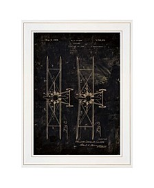 """Trendy Decor 4U Airplane Patent I by Cloverfield Co, Ready to hang Framed Print, White Frame, 15"""" x 19"""""""