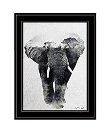Trendy Decor 4U Elephant Walk by andreas Lie, Ready to hang Framed Print Collection