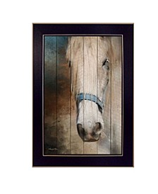 """Old Gray Mare By Robin-Lee Vieira, Printed Wall Art, Ready to hang, Black Frame, 14"""" x 20"""""""
