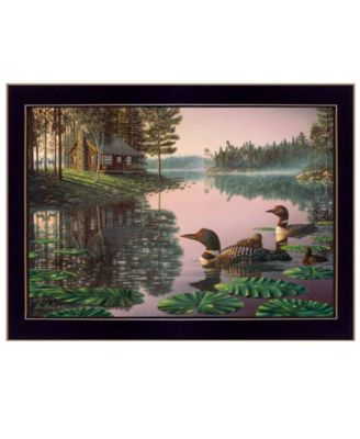 """Northern Tranquility by Kim Norlien, Ready to hang Framed Print, Black Frame, 20"""" x 14"""""""