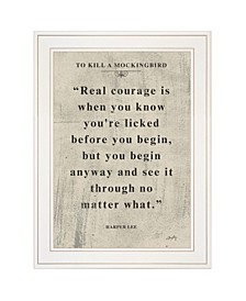 """Book Quote VI by Misty Michelle, Ready to hang Framed Print, White Frame, 15"""" x 19"""""""