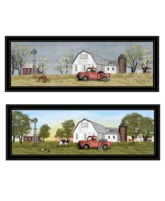 Billy Jacobs Summer/Spring Seasonal 2-Piece Vignette, Black Frame, 39