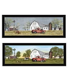 Trendy Decor 4U Billy Jacobs Summer/Spring Seasonal 2-Piece Vignette Collection