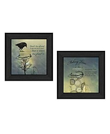 "Glass Jars Collection By Robin-Lee Vieira, Printed Wall Art, Ready to hang, Black Frame, 28"" x 14"""