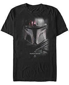 Men's Mandalorian Big Face Helmet T-shirt