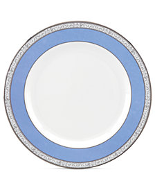 Marchesa by Lenox Sapphire Plume Appetizer Plate