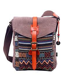 Four Season Canvas Crossbody Bag