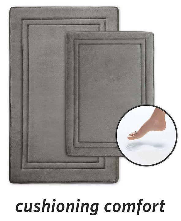 Microdry SpeedDry® 2-Pc. Memory Foam Bath Mat Set