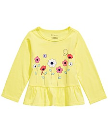 Toddler Girls Cotton Floral-Print T-Shirt, Created For Macy's