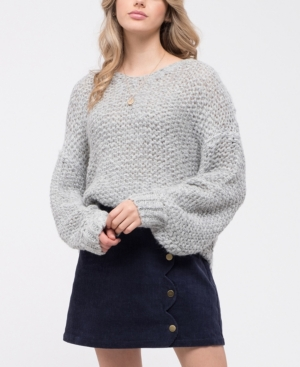 Blu Pepper Chunky Knit Sweater