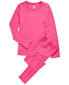 Little & Big Girls 2-Pc. Base Layer Top & Pants Set