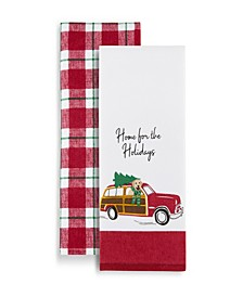 Elrene Home for the Holidays Kitchen Towels, Set of 2