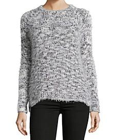 Crewneck Eyelash Sweater