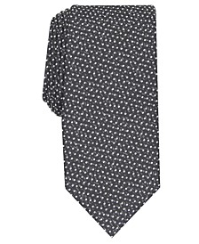 Men's Slim Abstract Dot Tie, Created For Macy's