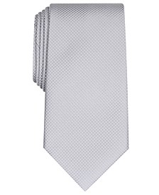 Men's Parker Classic Grid Tie, Created For Macy's