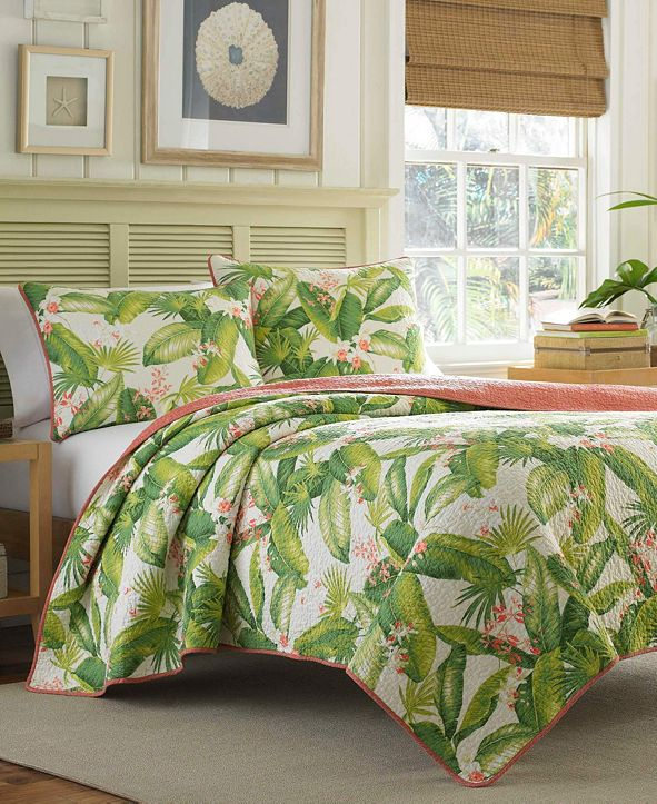 Tommy Bahama Home Tommy Bahama Aregada Dock King Quilt Sham Set