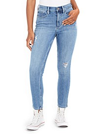 High-Rise Decon Skinny Jeans