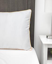 Essentials Medium Support Standard Gusseted Bed Pillow