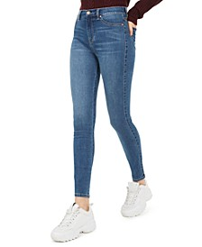 Juniors' Ultra-High-Rise Skinny Jeans