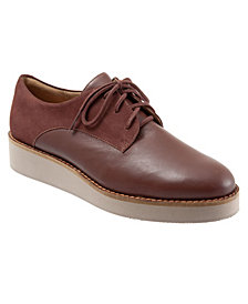 SoftWalk Willis Lace Up Oxfords