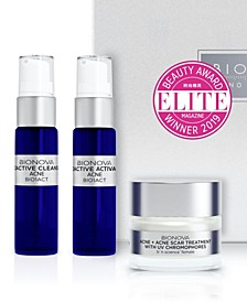 Acne + Acne Scar Discovery Collection with UV Chromophores