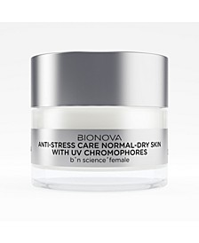 Anti-Stress Care for Normal-to-Dry Skin with UV Chromophores
