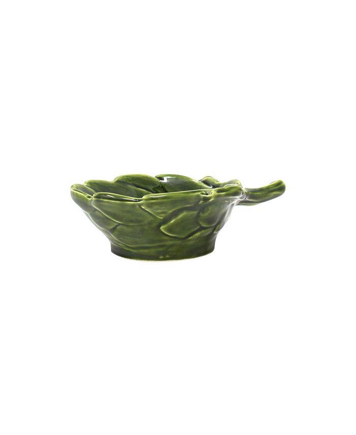 VIETRI - Artichokes Green Figural Artichoke Small Bowl