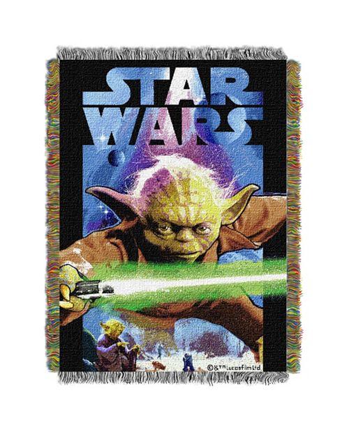 Northwest Company Star Wars Yoda Tapestry Throw