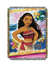 Moana Tapestry Throw