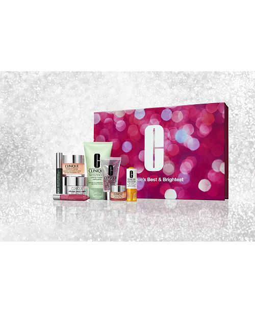Clinique Clinique's Best and Brightest - Only $49.50 with any $29.50 Clinique purchase (A $225.50 Value)!