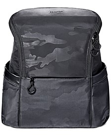 Paxwell Easy-Access Camo-Print Diaper Backpack