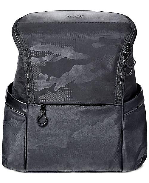 Skip Hop Paxwell Easy-Access Camo-Print Diaper Backpack