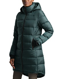 Metropolis Hooded Parka Coat