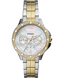 Women's Finley Two-Tone Stainles Steel Bracelet Watch 34mm