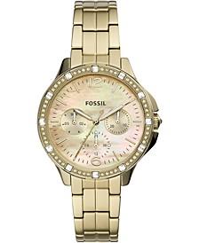 Women's Finley Gold-Tone Stainless Steel Bracelet Watch 34mm