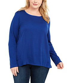 Plus Size Crewneck T-Shirt