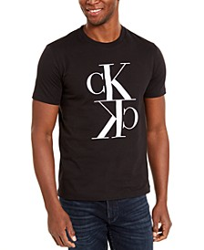 Men's Monogram Reflection Logo Graphic T-Shirt