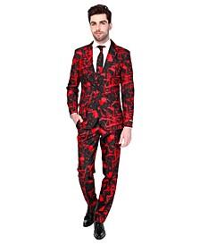 Men's Halloween Black Blood Halloween Suit