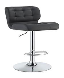 Talladega Upholstered Adjustable Bar Stool, Set of 2