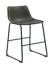 Bisbee Armless Bar Stools Two-Tone, Set of 2